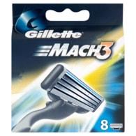 Gillette Mach3 náhradní hlavice 8ks