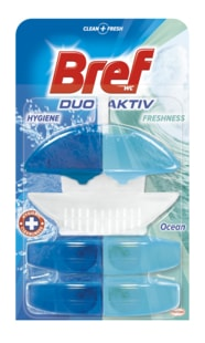 Bref Duo Aktiv Ocean WC blok + 2 náhradní náplně 3x50ml
