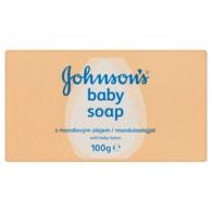 Johnson's Baby Mýdlo s mandlovým olejem 100g