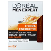L'Oréal Paris Men Expert Hydra Energetic High Power voda po holení 100ml