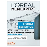 L'Oréal Paris Men Expert Hydra Sensitive voda po holení 100ml