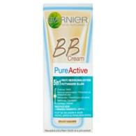 Garnier Skin Naturals Pure Active BB Cream 5v1 pro aknózní pleť světlý odstín 50ml