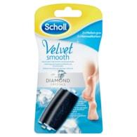 Scholl Velvet Smooth Náhradní hlavice do elektrického pilníku na chodidla hrubé 2 ks