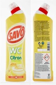 Savo WC čistič Citron 750ml