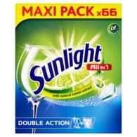 Sunlight All in 1 Tablety do myčky nádobí 66 ks 1155g