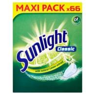 Sunlight Classic Tablety do myčky nádobí 66 ks 627g