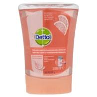 Dettol Osvěžující grapefruit náhradní náplň do bezdotykového dávkovače 250ml