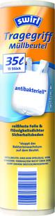 Swirl Antibakteriální sáčky na odpad s uchy 35L/15ks