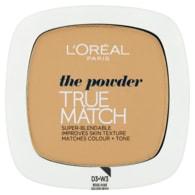 L'Oréal Paris True Match Kompaktní pudr Golden Beige W3 9g