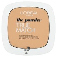 L'Oréal Paris True Match Kompaktní pudr Honey W6 9g