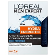 L'Oréal Paris Men Expert Hydra Energetic Skin Purifier voda po holení 100ml