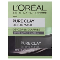 L'Oréal Paris Skin Expert Pure Clay intenzivní čisticí maska 50ml