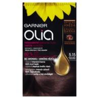 Garnier Olia Permanentní barva na vlasy ledová hnědá 5.15