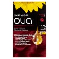 Garnier Olia Permanentní barva na vlasy světlá granátově červená 6.66