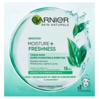 Garnier Moisture + Freshness superhydratační čistící textilní maska 32g