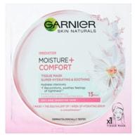 Garnier Moisture + Comfort superhydratační zklidňující textilní maska 32g