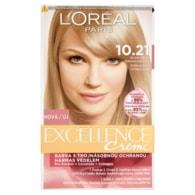 L'Oréal Paris Excellence Crème blond světlá duhová popelavá 10.21