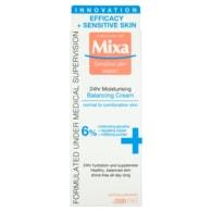 Mixa Sensitive Skin Expert 24 h lehký vyvažující hydratační krém 50ml