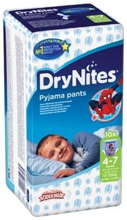 Huggies DryNites 4-7 let 10ks chlapci - kalhotkové pleny