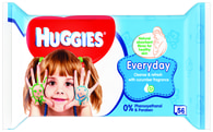 Huggies Everyday vlhčené ubrousky 56ks