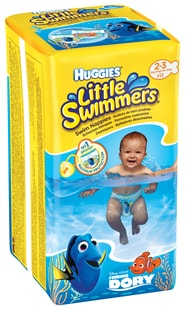 Huggies Little Swimmers 3-8kg 12ks plenky do vody
