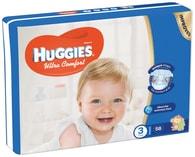 Huggies Ultra Comfort 3 (5-8kg) 58ks jednorázové pleny