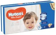 Huggies Ultra Comfort 4 (8-14kg) 54ks jednorázové pleny