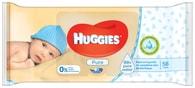 Huggies Pure vlhčené ubrousky 56ks