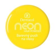 Dermacol Barevný pudr na vlasy Neon č.1 - žlutá