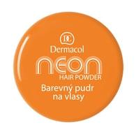 Dermacol Barevný pudr na vlasy Neon č.2 - oranžová
