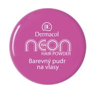 Dermacol Barevný pudr na vlasy Neon č.4 - fialová