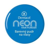 Dermacol Barevný pudr na vlasy Neon č.5 - modrá