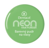 Dermacol Barevný pudr na vlasy Neon č.6 - zelená