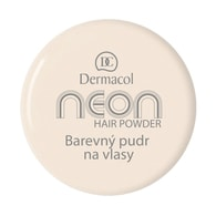 Dermacol Barevný pudr na vlasy Neon č.6 - zlatá