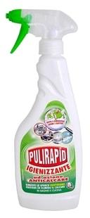 Pulirapid Igienizzante 500 ml na vodní kámen, hygienizující