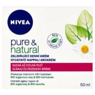 Nivea Denní krém Pure&Natural S/C 50ml