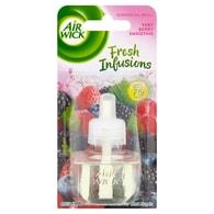 Air Wick Fresh Infusions Tekutá náplň do elektrického přístroje vůně smoothie lesní ovoce 1