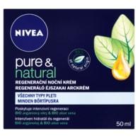 Nivea Noční krém Pure&Natural 50ml